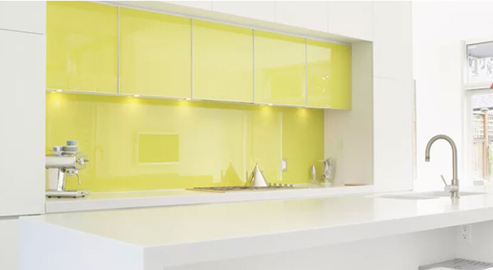 Applications of Color Glass in Decoration