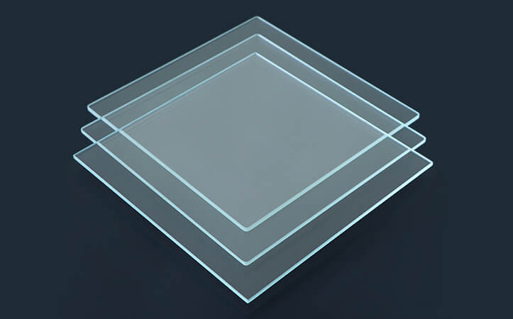 2 mm, 2.7 mm,3 mm ultra-white toughened tempered glass
