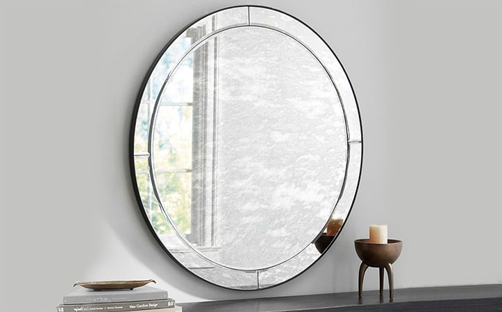 4mm 5mm grey color Antique mirror for bathroom home decoration