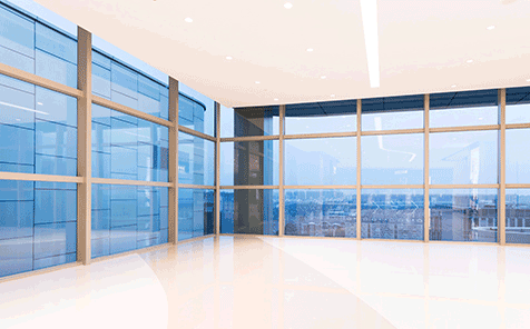 8.38mm reflective laminated glass for curtain wall