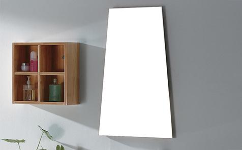 Custom irregular shape Silver mirror for sitting room decorate