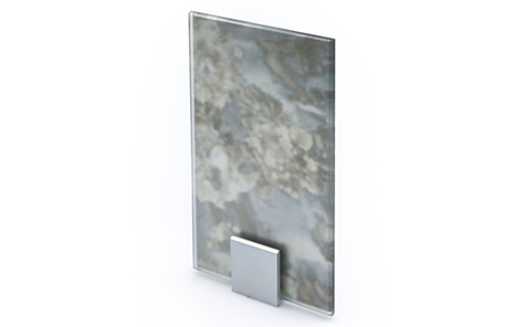 Frosted antique mirror for bathroom hotel decoration