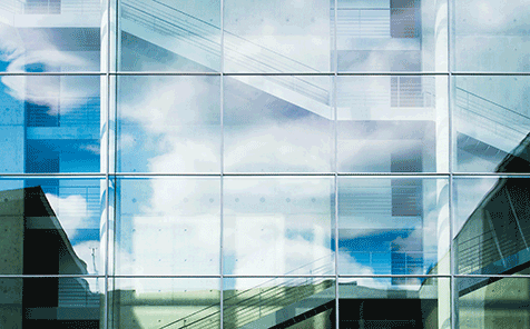12mm safety clear tempered glass for curtain wall