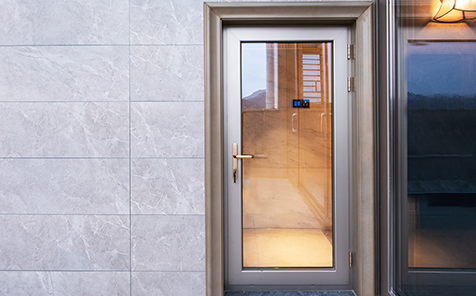 Custom size safe tempered glass for doors