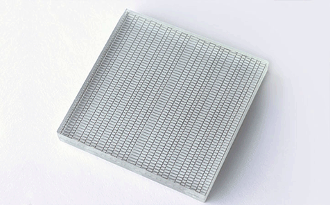 clear iron wire laminated glass for partition