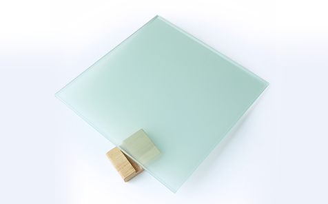 Privacy protection tempered frosted silk screen printing glass
