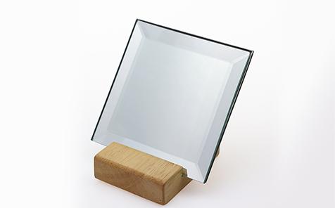 Square bevel shatterproof mirror silver mirror