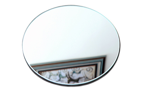 Round edging safety mirror shatterproof mirror