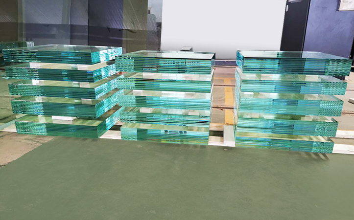 Multilayer laminated glass for the precious pieces(Accept custom size and thickness)