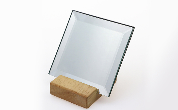Square bevel shatterproof mirror silver mirror