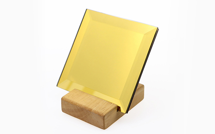 Color bevel safety mirror shatterproof mirror